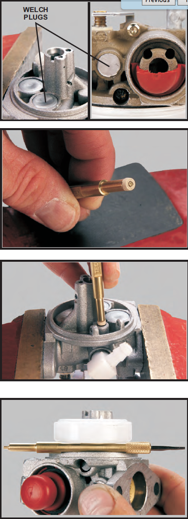 Tecumseh Carburetor Cleaning Steps 13-16