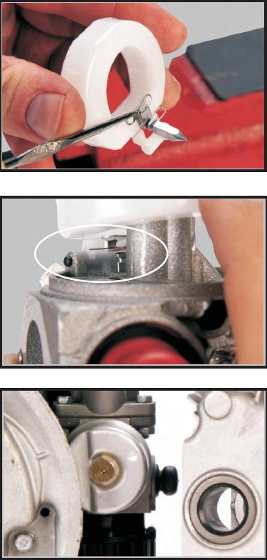 Tecumseh Carburetor Cleaning Steps 17-19