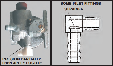 Fuel Inlet Fitting