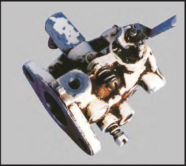 Worn Carburetor Body